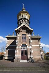 water tower in schoonhoven, the netherlands