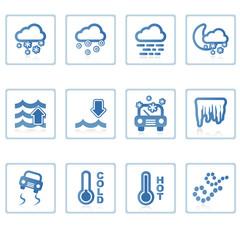 web icons : weather ii
