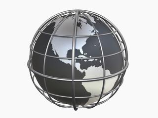 3d model of globe