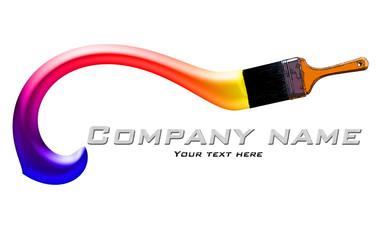 house painting company logo
