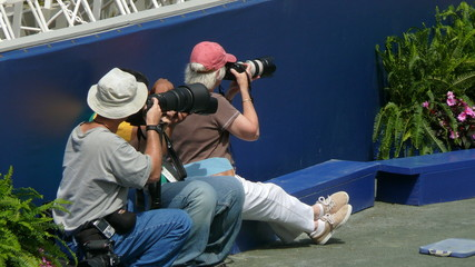 two photographers