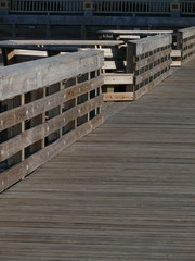 boardwalk at pier