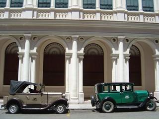 vintage cars, cuba