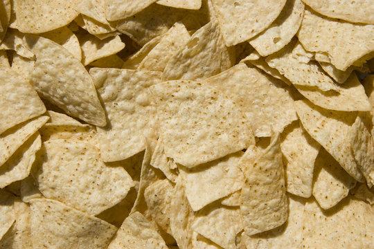 white corn chips