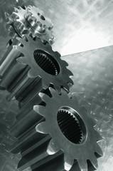 gears seen from underneath