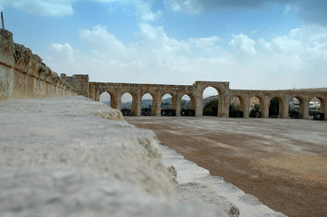 hippodrome de jerash (jordanie)