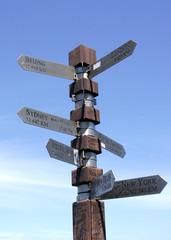 direction pole