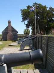 cannon and union jack