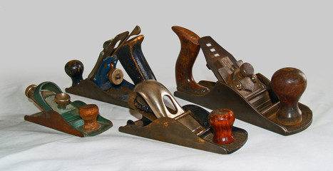 wood planes from another era