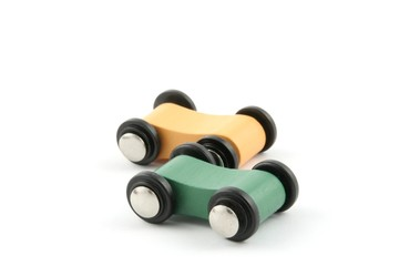 toy wooden cars