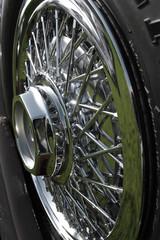 Wall Mural - spoked wheel