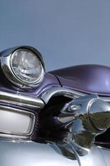 Wall Mural - purple classic car