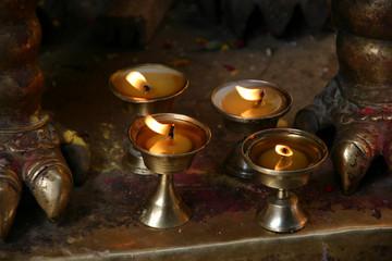 golden temple patan lights