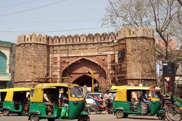Keuken foto achterwand Delhi delhi market street