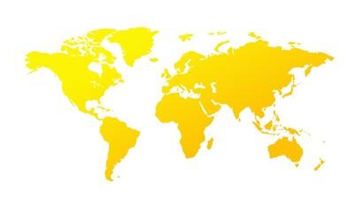 Foto auf Leinwand Weltkarte weltkarte9