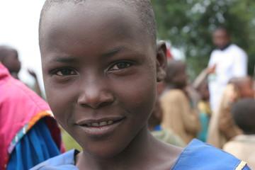 portrait d'enfant rwanda