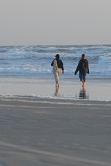 walk on beach
