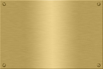 gold plate Wall mural