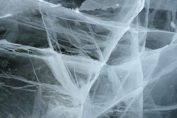 spooky texture of broken ice