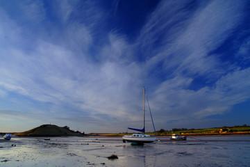 Fototapete - alnmouth, northumberland,