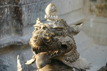 katmandu dragon temple