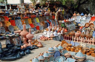 tunisie - tourist market