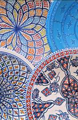 Keuken foto achterwand Tunesië tunisia plates
