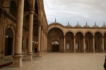 courtyard for mohamed ali citadel