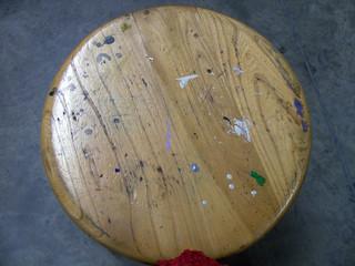 old artist's stool