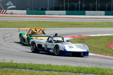 Tuinposter Snelle auto s racing cars