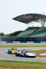Deurstickers Snelle auto s racing car