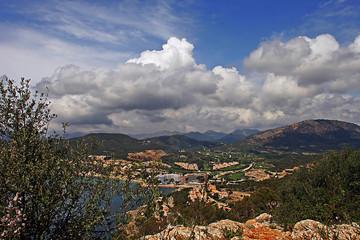 wolken über mallorca
