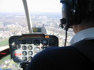 cabine d'hélicoptère
