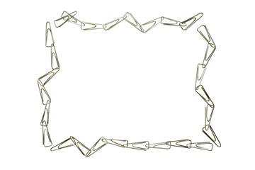 paper clips frame