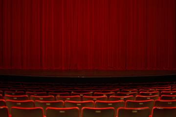 Fotobehang Theater theatre curtain 2