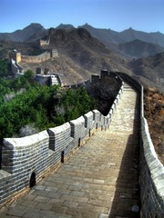Fotobehang Chinese Muur great wall - china