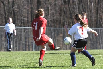 girls on soccer field 11