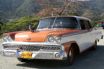 voiture américaine des années 50