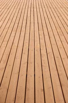 wooden deck perspective