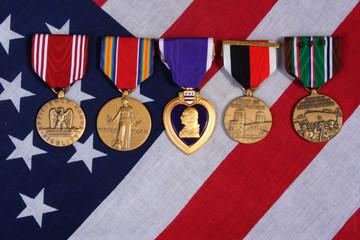 american war medals