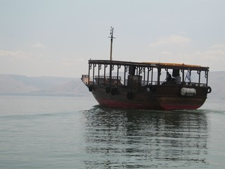 on the see of galilee