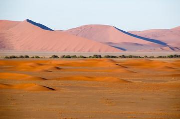 small dunes vs big dunes