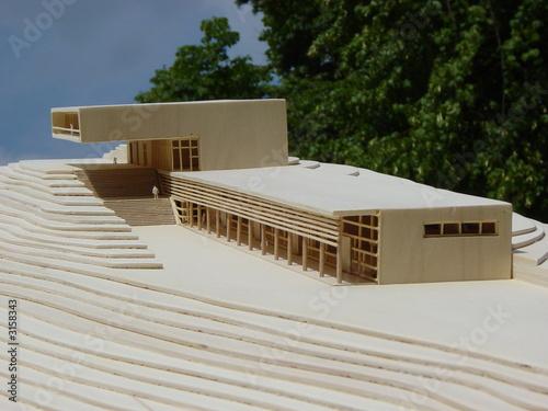 architekturmodell stockfotos und lizenzfreie bilder auf bild 3158343. Black Bedroom Furniture Sets. Home Design Ideas