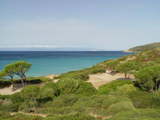 spiaggia di mari pintau - cagliari - sardegna