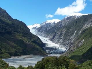 Poster Glaciers franz josef glacier