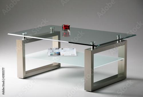 couchtisch, glastisch, designermöbel Stockfotos und