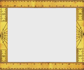 vintage ruler border 1