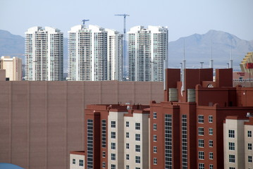 condos and buildings