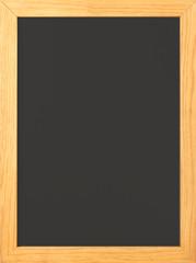 blank old fashioned chalkboard