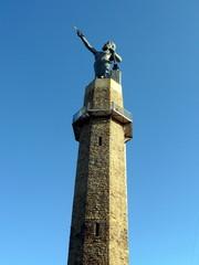 sunlit tower